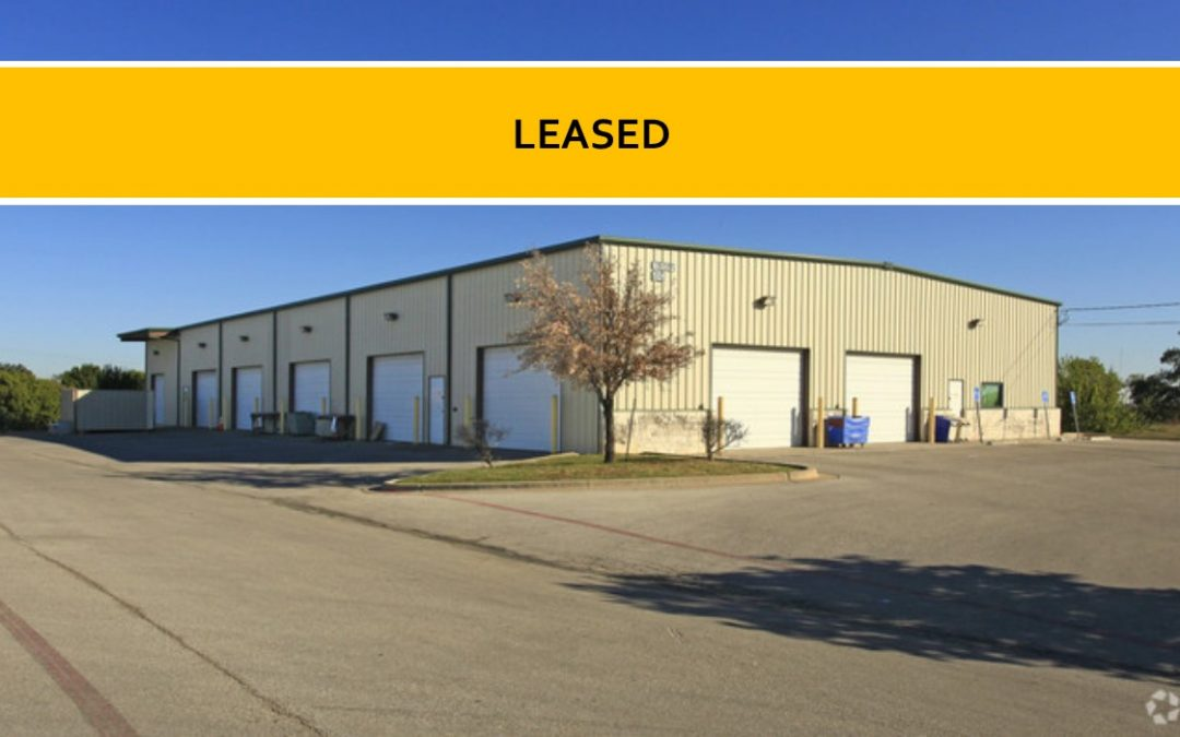 For Lease – Warehouse Space in Georgetown, TX
