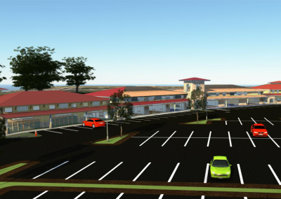 Parking and Retail